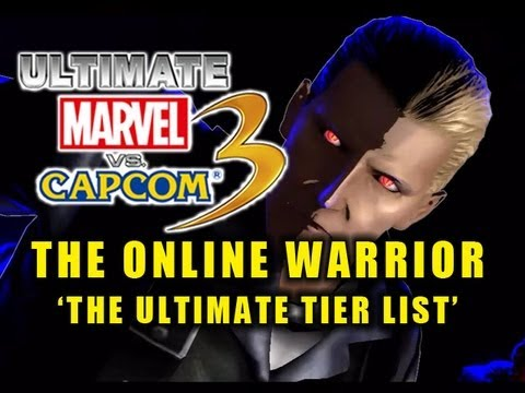 UMVC3 The Online Warrior: Episode 18 'The Ultimate Tier List'