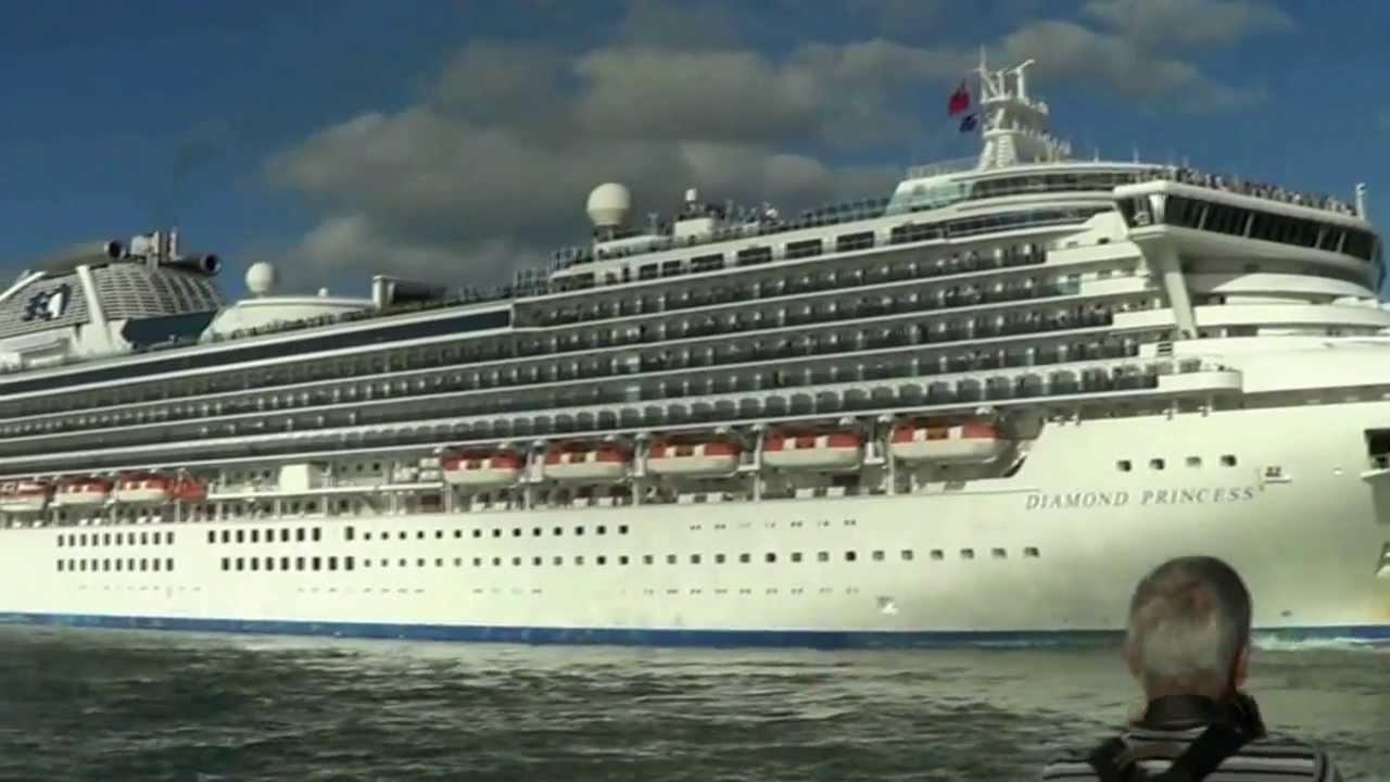 Diamond Princess Cruise Ship  YouTube