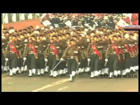 India Republic Day parade 2014