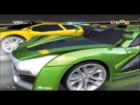 [Phim Hoạt Hình] Thần xe siêu tôc -  tập 9 - Ông hoàng của những khúc cua-  Thần Tia Chớp