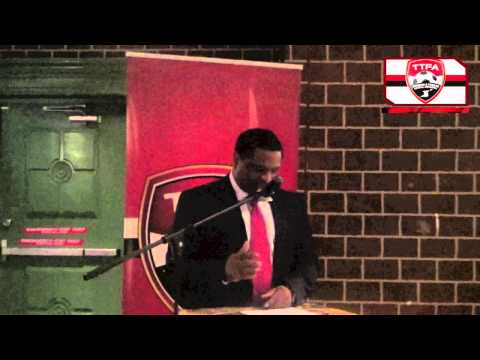 TTFA General Secretary delivers address at T&T vs Jamaica Press Conference