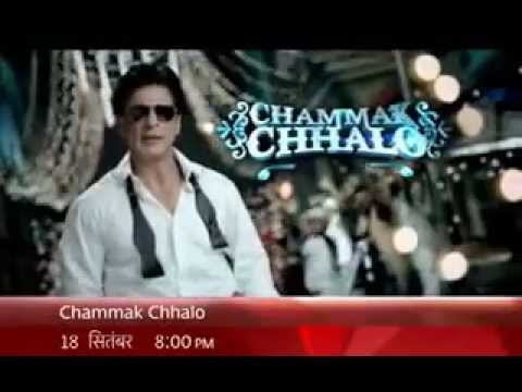 Shahrukh Khan -Chammak Challo - Ra.One (2011) soung promo 18 sept. 8 pm Star Plus