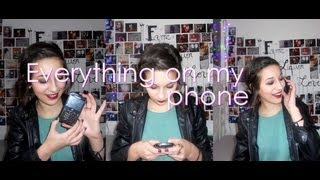 TAG : Everything On My Phone + Mon Nouveau Mur !