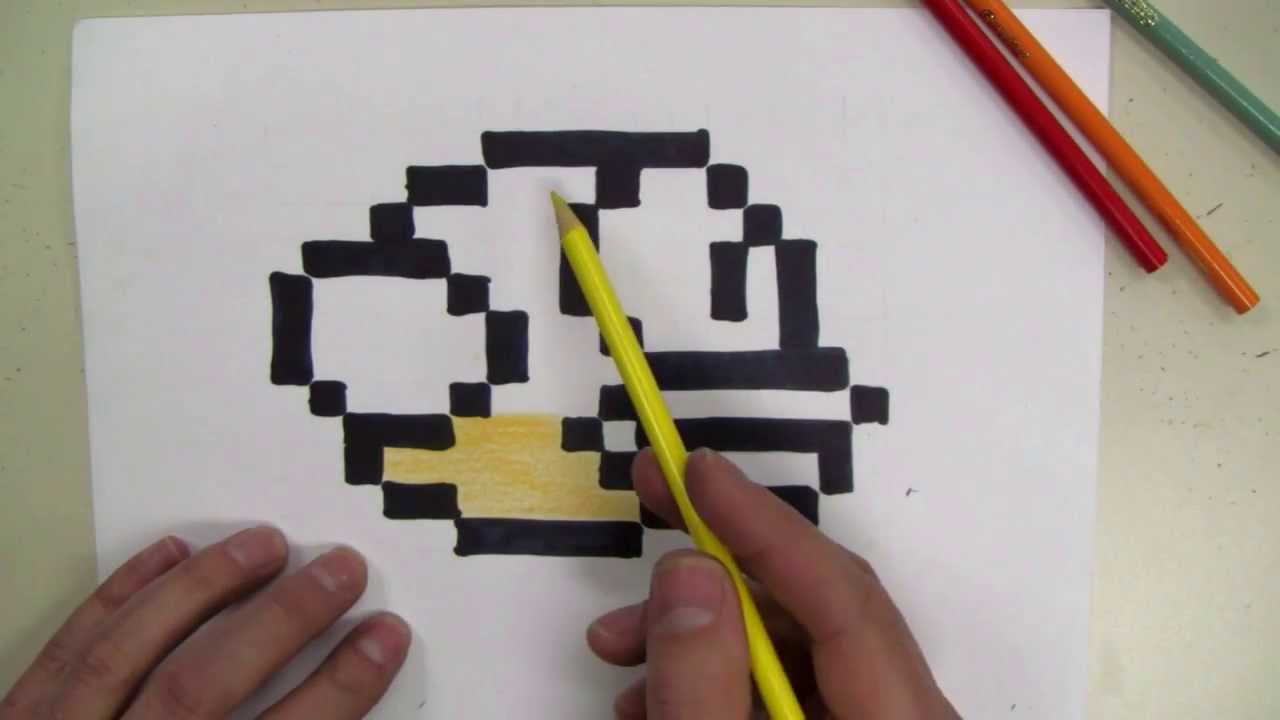 how to draw  flappy bird 8-bit
