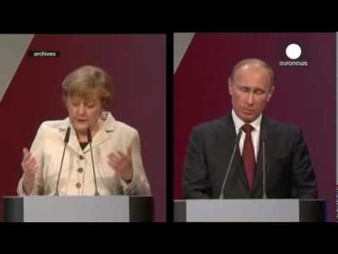 Merkel and Putin discuss situation in Ukraine on the phone   euronews, world news