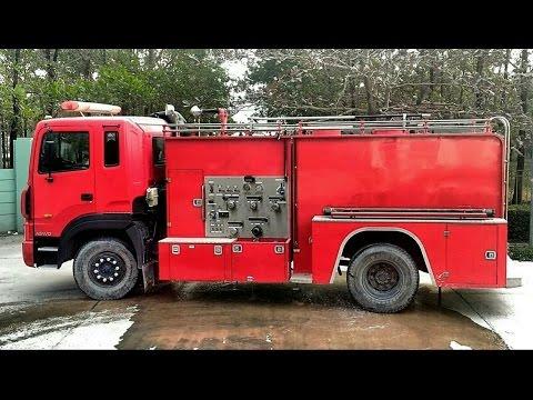 Xe cứu hỏa, xe chữa cháy hút nước | Nhạc thiếu nhi remix | Fire truck Children's music ♥Tientube TV