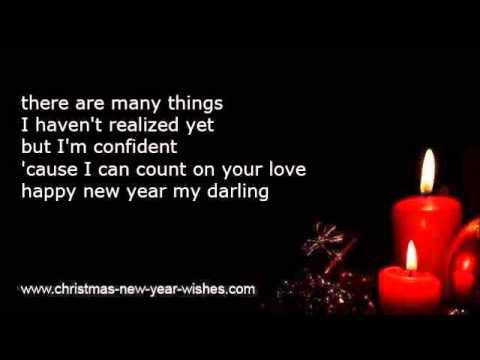 Boyfriend new year wishes from lover girlfriend