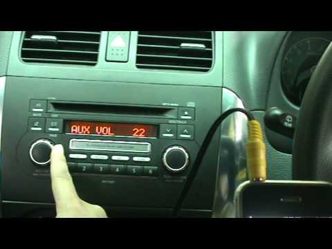 Suzuki Sx Radio Aux Input