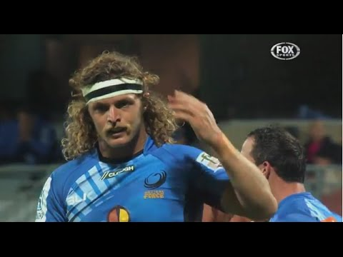 Top 5 Honey Badger moments | Super Rugby Video Highlights - Top 5 Honey Badger moments | Super Rugby