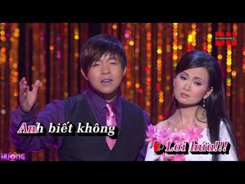 Karaoke Bông Ô Môi Quang Lê ft Hà Phương