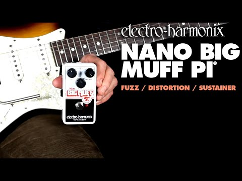 Electro Harmonix Nano Big Muff Pi Distortion Effects Pedal for Guitar