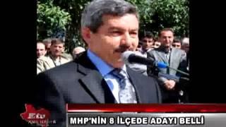 MHP'NİN 8 İLÇE ADAYI BELLİ OLDU