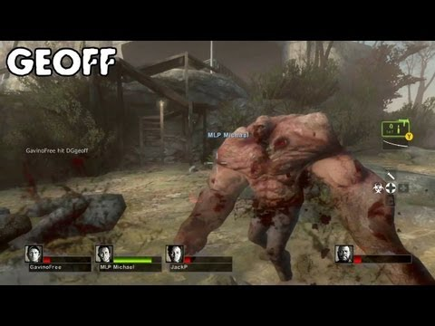 Let's Play Left 4 Dead 2: Cold Stream - With Geoff Jack Michael and Gavin - Part 1
