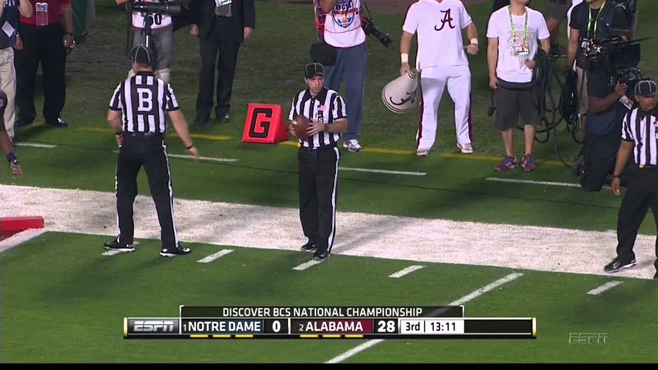 Alabama Highlights from the BCS National Championship Game ...
