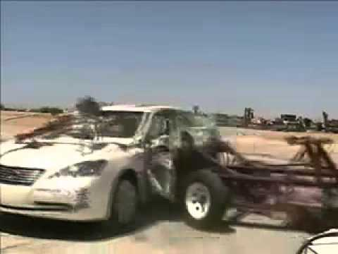 Vehicule  Crash Test of 2007 Lexus ES350 _ Toyota Windom w_sab-Extreme
