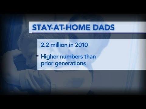 Why more American dads are choosing to stay home