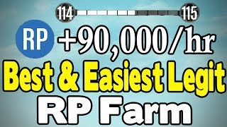 GTA Online BEST & EASIEST RP FARM (90K RP/HR) [GTA V