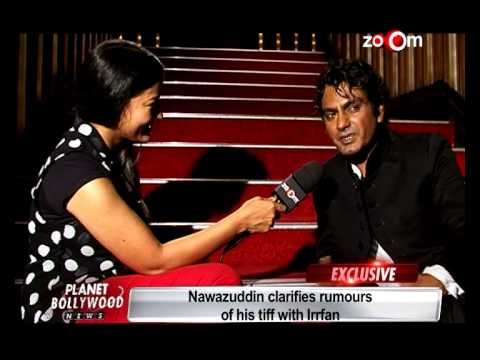 The Lunchbox - Nawazuddin clarifies rumours of his tiff with Irrfan Khan
