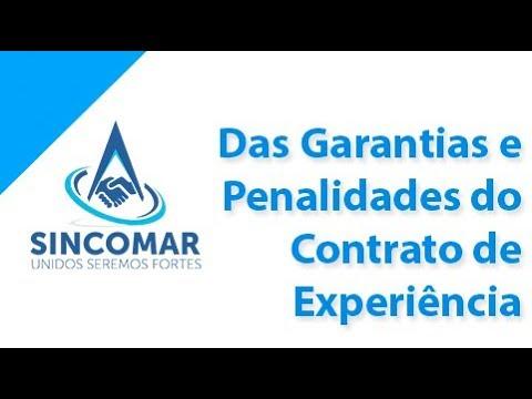 Das Garantias e Penalidades do Contrato de Experiência