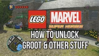 How To Unlock Groot LEGO Marvel Super Heroes
