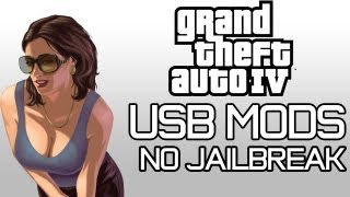 GTA IV USB MODS GOD MODE, UNLIMITED CASH, WEAPONS, +MORE