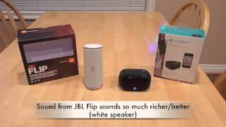JBL Flip Speaker Review Bluetooth Problems Demo By