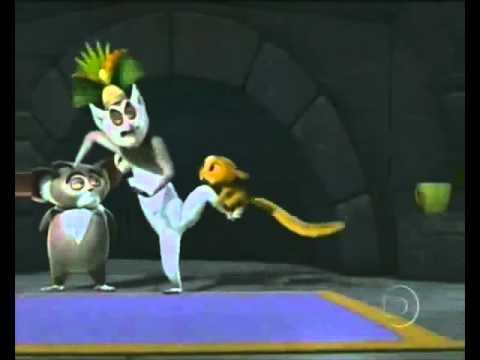 Abertura de Os Pinguins de Madagascar na TV Globinho (Rede Globo)