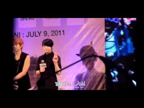[Fancam] 110708 BEAST - Press Conference @ Park Paragon