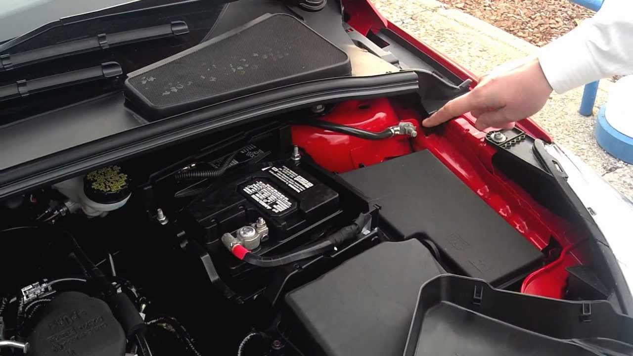 Ford Focus Car Battery Covers