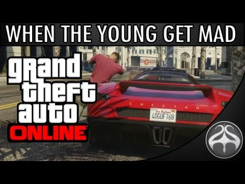 Hình ảnh trong video GTA Online - When teenagers get angry | Kid