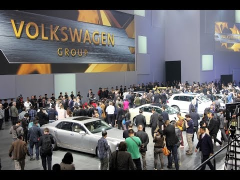 Peking 2014: Volkswagen Group Night