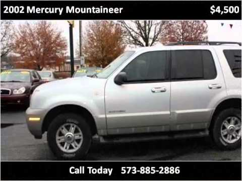 2002 Mercury Mountaineer Used Cars Cuba MO