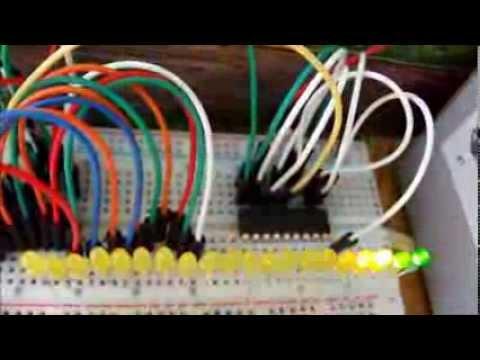 Jak zrobić wskaźnik wysterowania na 20 LED (muzyczne diody)