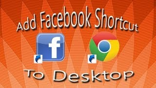 """How To Add A Facebook """"Shortcut"""" To Your Desktop"""