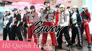 BTS Take It Easy | Hồ Quỳnh Hương | Hậu Trường