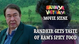 Randhir Gets Taste Of Ram's Spicy Food Ramaiya