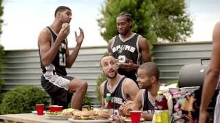 "Spurs Commercial ""Barbie"" : H-E-B"