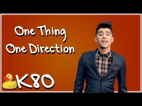 Parodia de One Thing (One Direction) por Key of Awesome Subtitulada