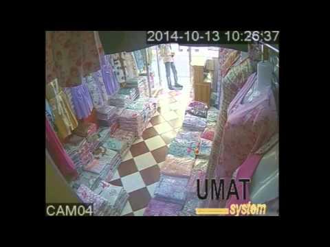 شاهد فيديو لعملية سرقة محل تجاري