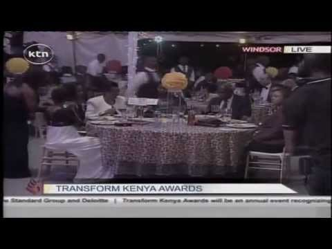 Bahati performs his song Mama in transform Kenya Awards.