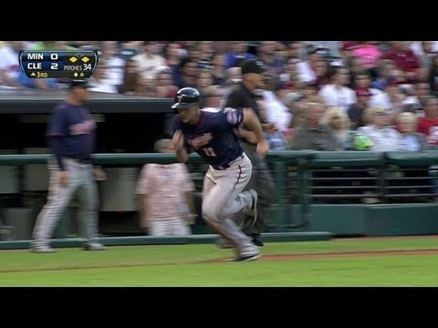 MIN@BAL: Dozier lifts a sac fly to put Twins on board