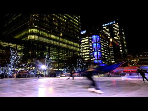 Ice Rink Canary Wharf Woodford Greater London