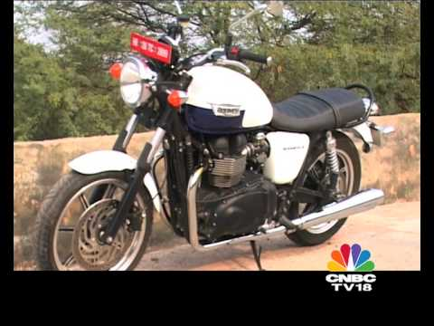 2014 Triumph Bonneville India first ride
