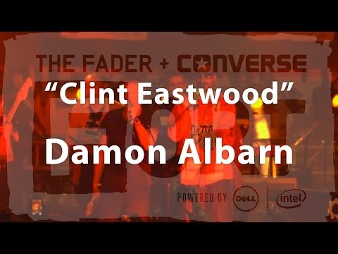 "Damon Albarn, Snoop Dogg - ""Clint Eastwood"" Live at The FADER FORT Presented by Converse"