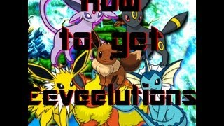 How To Get Eeveelutions (find Water, Fire, Thunder Stones