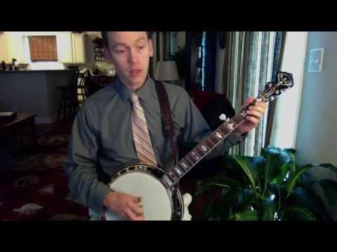Banjo Lesson: Rolling Backup Pattern - C Chord
