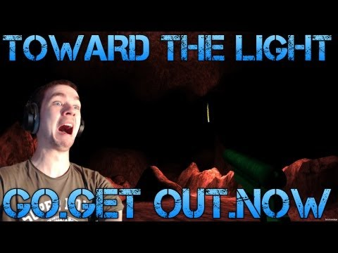 Toward the Light - GO.GET OUT.NOW - Short Indie Horror Game Commentary/Facecam reaction