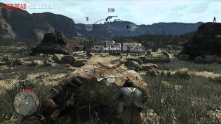 Twin Rocks Gang Hideout (Single Player) Red Dead