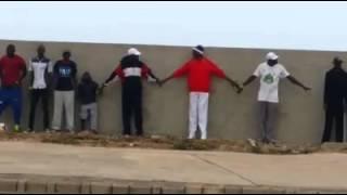 Randonnée contre le mur de la honte