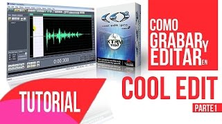 Tutorial Como Grabar Y Editar Con Cool Edit / Adobe Audition by: Zk Producciones (parte 1)